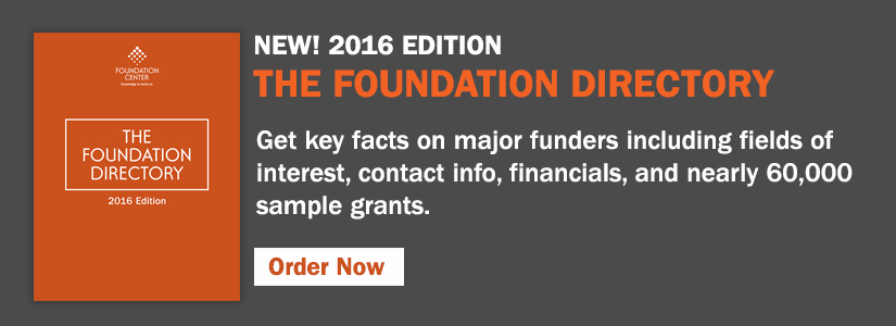 Get key facts on major funders